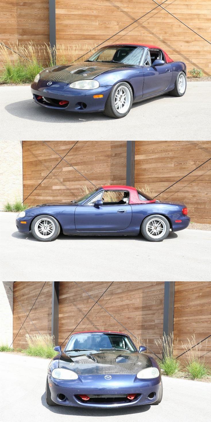 2001 Mazda Miata Mx 5 Track Car Race Car 2 0 Liter Motor Race
