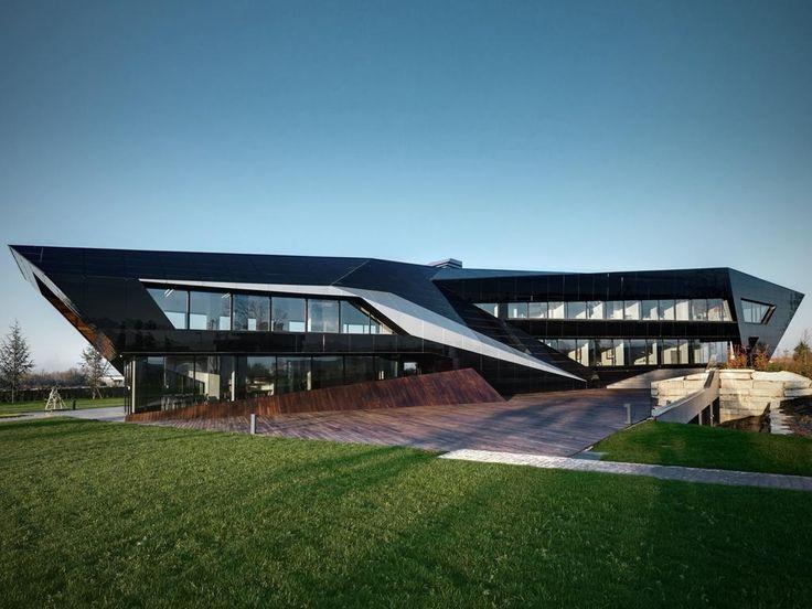 Vidre Negre Office Building
