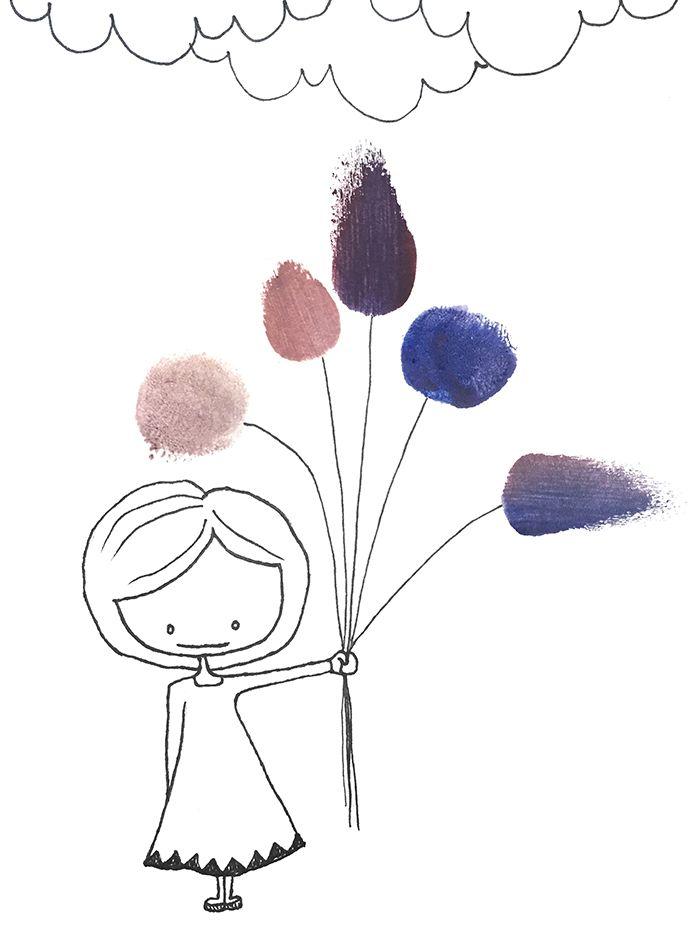 Flowergirl - Tintin Illustrations #illustration