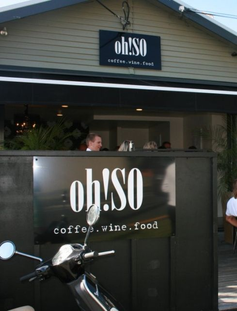 oh!SO cafe,  29 Crummer Rd Auckland City - (Off Ponsonby Rd) -  Very nice place - super food, great coffee and friendly staff.