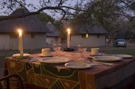 Skukuza Rest Camp Chalets, Kruger Park, South Africa.
