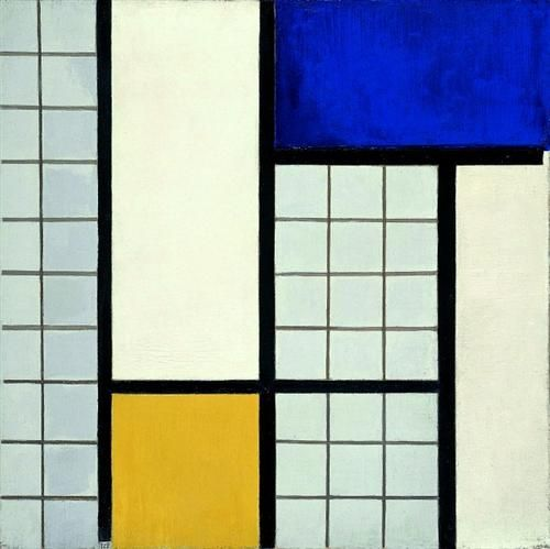 Composition with half values - Theo van Doesburg