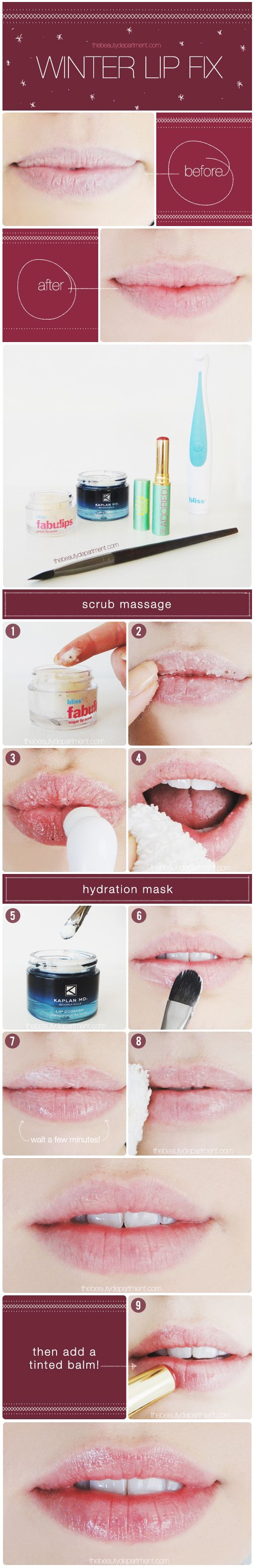 A little help for chapped lips!