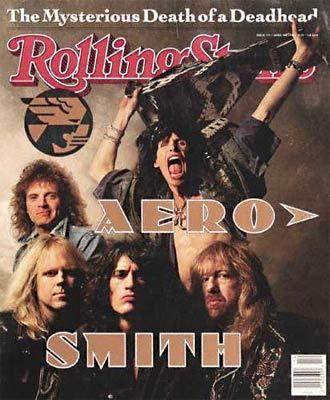 Rolling Stone Magazine - Aerosmith  My favorite band EVER!!
