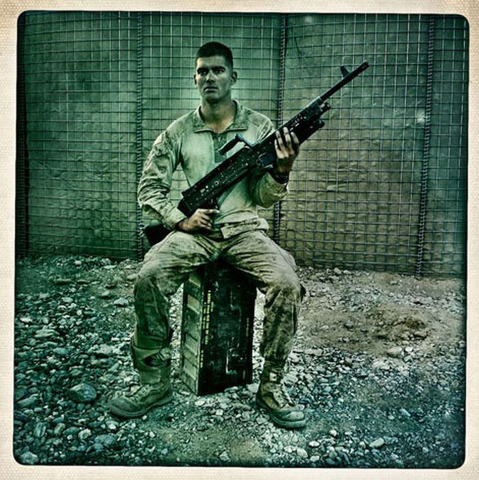 Balazs Gardi, Afghanistan War Photography using iPhone