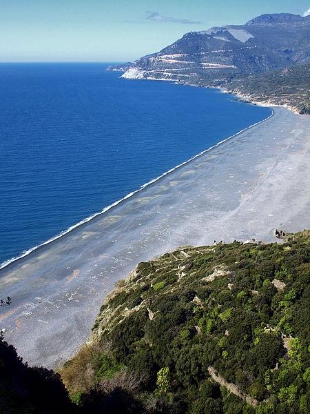 (Corsica) - Plage de Nonza