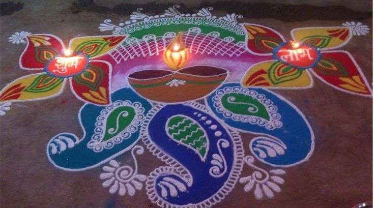 Rangoli Designs For Diwali   IMAGES, GIF, ANIMATED GIF, WALLPAPER, STICKER FOR WHATSAPP & FACEBOOK