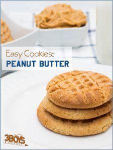 Recipe: Easy Peanut Butter Cookies