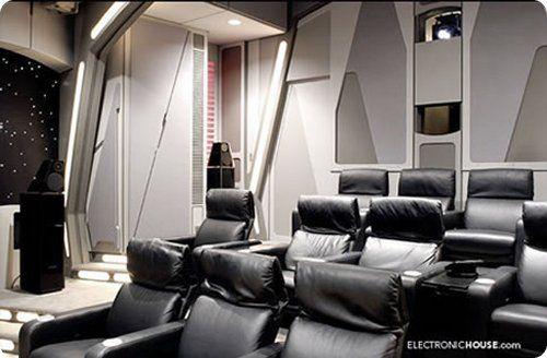 Star Wars theme home cinema -- photo #2