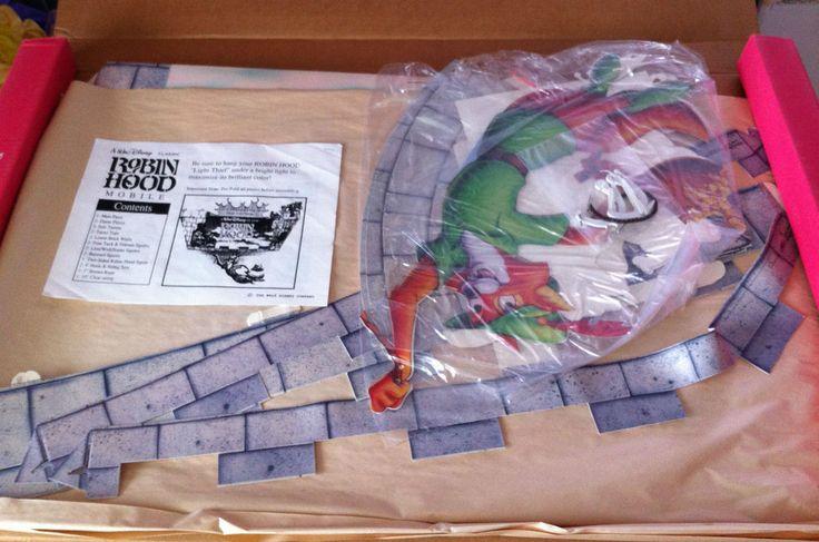 Mega Rare Huge Disney Robin Hood Movie Video Mobile Promo Display Standee