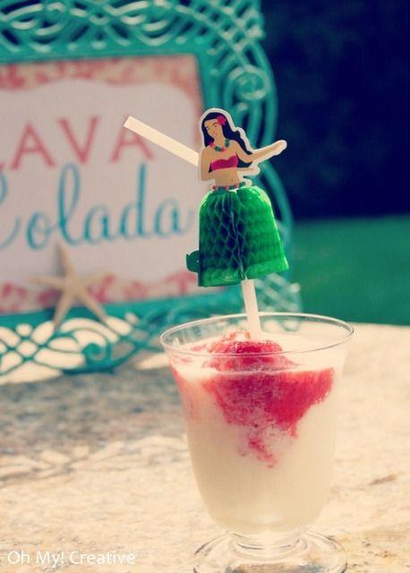 luau party drink lava colada 4
