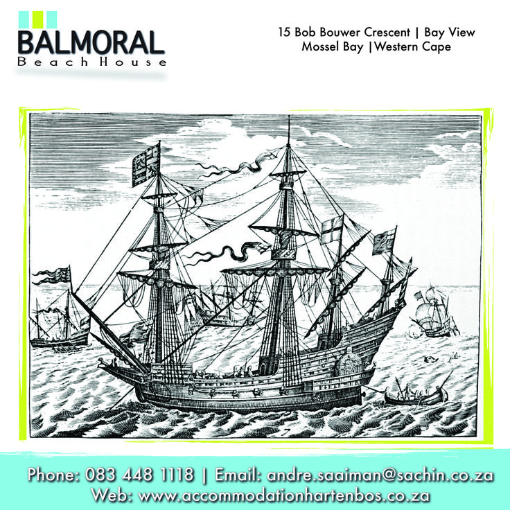Bartolomeu Dias discovered that he had sailed past the southern-most point of Africa. A strong wind had driven him so far south of Cape Point that he did not see it and had to sail northwards to reach the coast. His first landing place was the bay of St. Blaize, now Mossel Bay. Here he took in fresh water and bartered live-stock from the Khoikhoi.  #History #BartolomeuDias #TBT