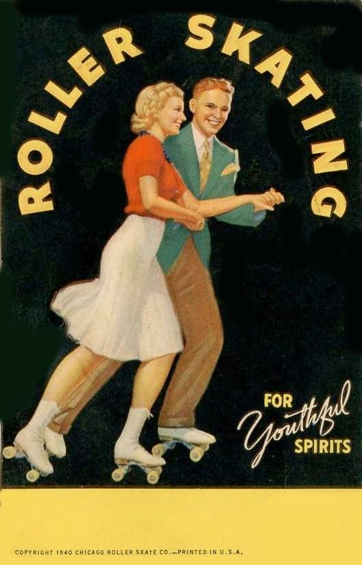 postcard-chicago-roller-skating-for-youthful-spirit-nice-vintage-drawing-of-couple-chicago-roller-skate-company-1940.jpg (528×824)