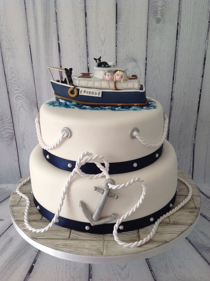16 Best Boating Wedding Cake Toppers Images On Pinterest