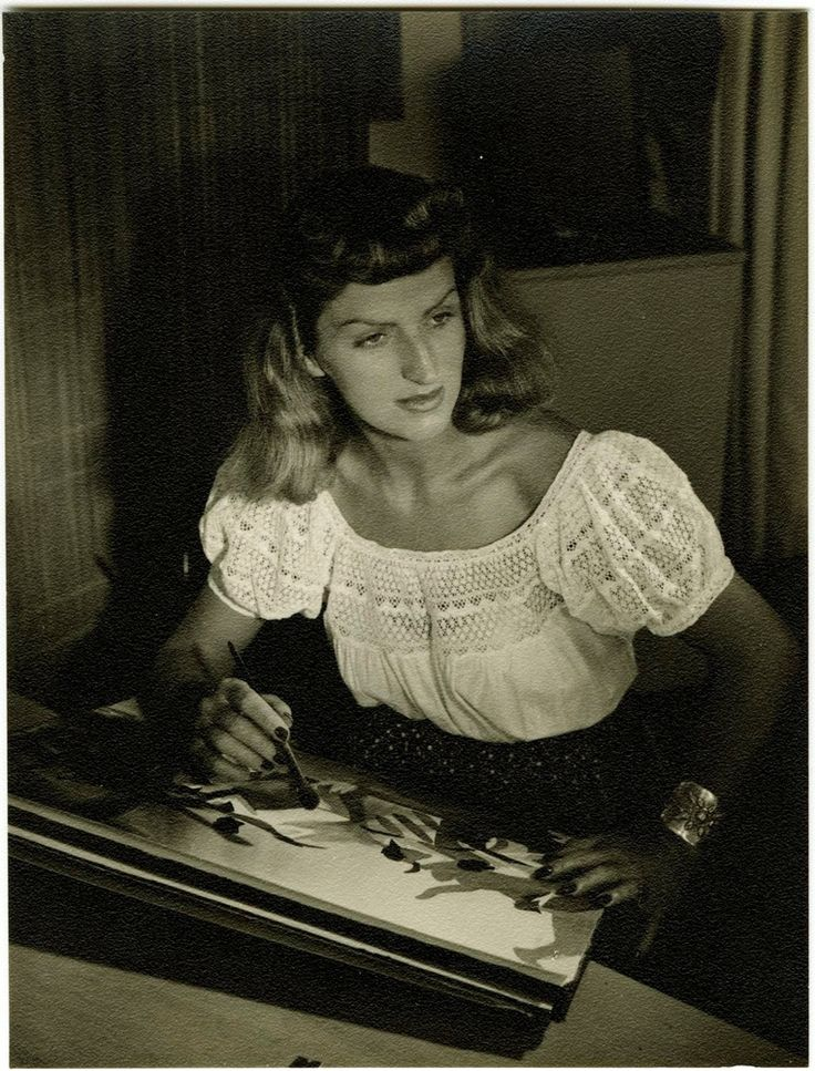 Mary Blair portrait, ca. 1941; Walt Disney Family Foundation, Gift of Jeanne Chamberlain and Maggie Richardson