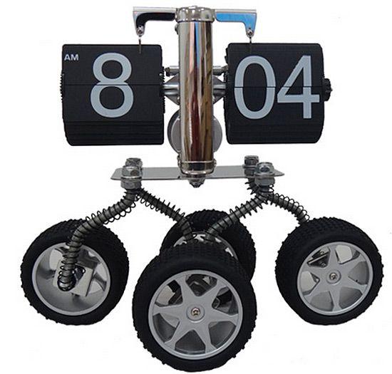 Tekerli Özel Masa Saati  Ürün Bilgisi ;  4 tekerli ve metal malzemeden tasarım Eklenecek daha... sorularınız var ise iletişim ya da telefon açınız