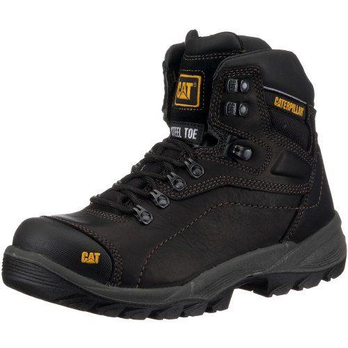 Caterpillar CAT Footwear Mens Diagnostic Hi S3 Safety Boots, Black, 9 UK No  description