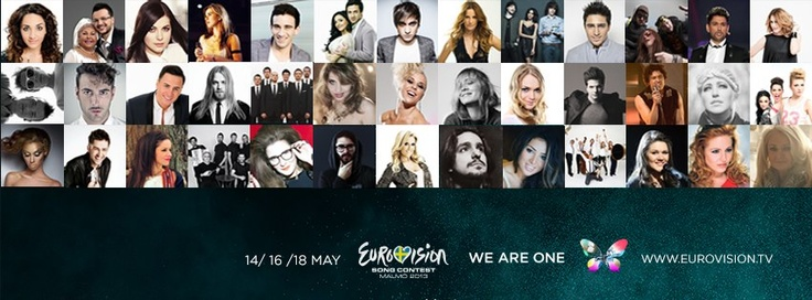All the Eurovision 2013 participants!