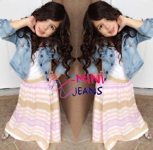 Set Mini Jeans 3in1 Jacket Jeans