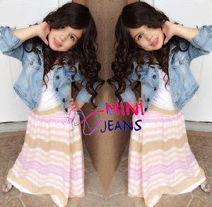 Set Mini Jeans 3in1 Jacket Jeans