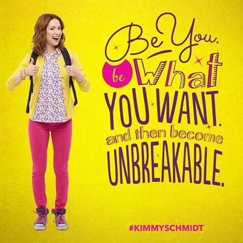 New favorite show! Unbreakable Kimmy Schmidt