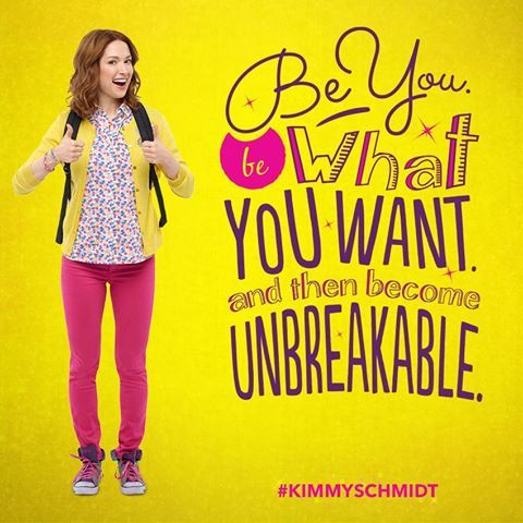 New favorite show! Unbreakable Kimmy Schmidt