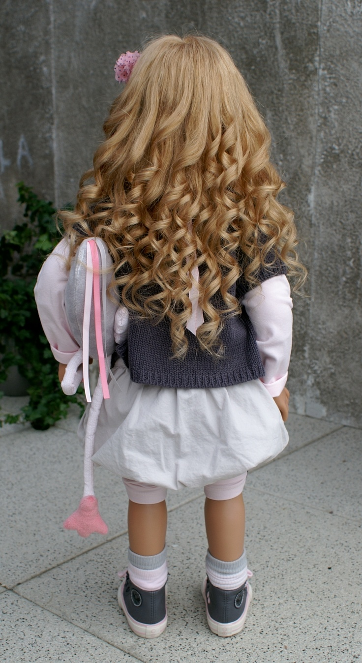 Look at all her beautiful hair, see more photos at www.dollconnectionstore.com