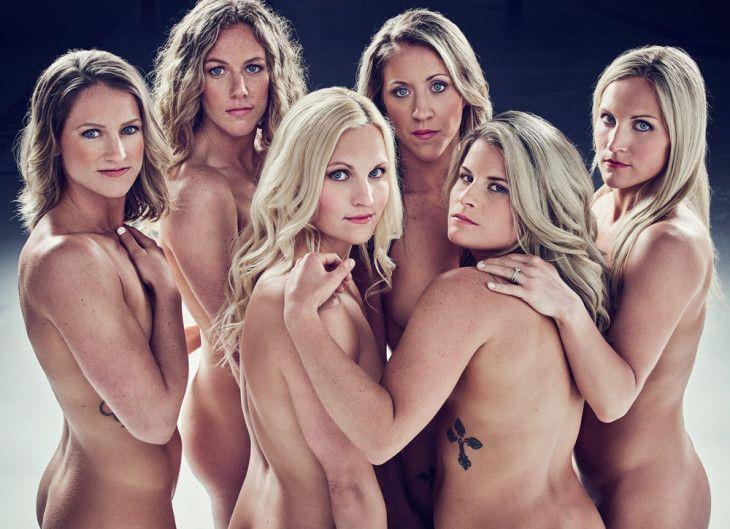 Девушки дня. Хоккеистки сборной США в фотосессии ESPN - Тексты - Советский Спорт