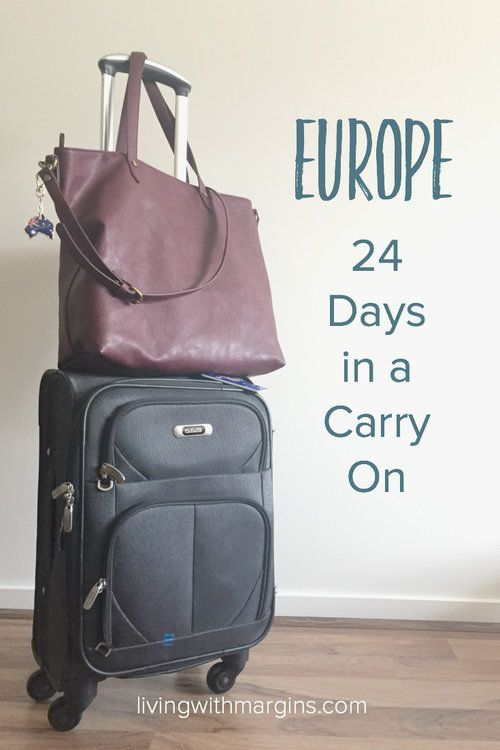There is no reason to struggle with heavy luggage! Here is my packing list for 3 weeks in Europe with just a carry on case.