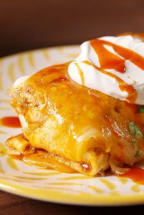 This Cheesy Baked Burrito Will Ruin All Other Burritos For You - Delish.com