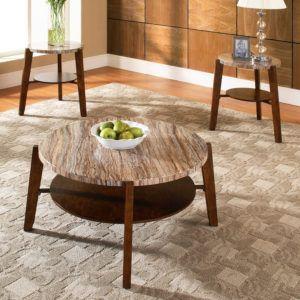 Steve Silver Matinee 3 Piece Coffee Table Set