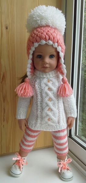 I love the idea of making knitting patterns for American girl dolls