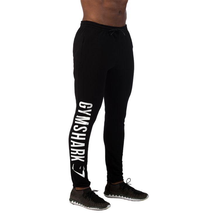 GymShark Element Bottoms - Black/White Gymshark latest developments | GymShark International | Innovation In Fitness Wear