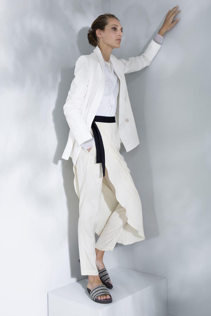 Brunello Cucinelli Spring 2016 Ready-to-Wear