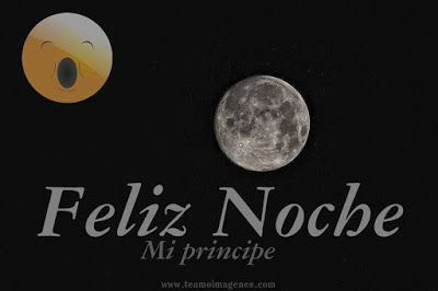 Feliz noche mi principe