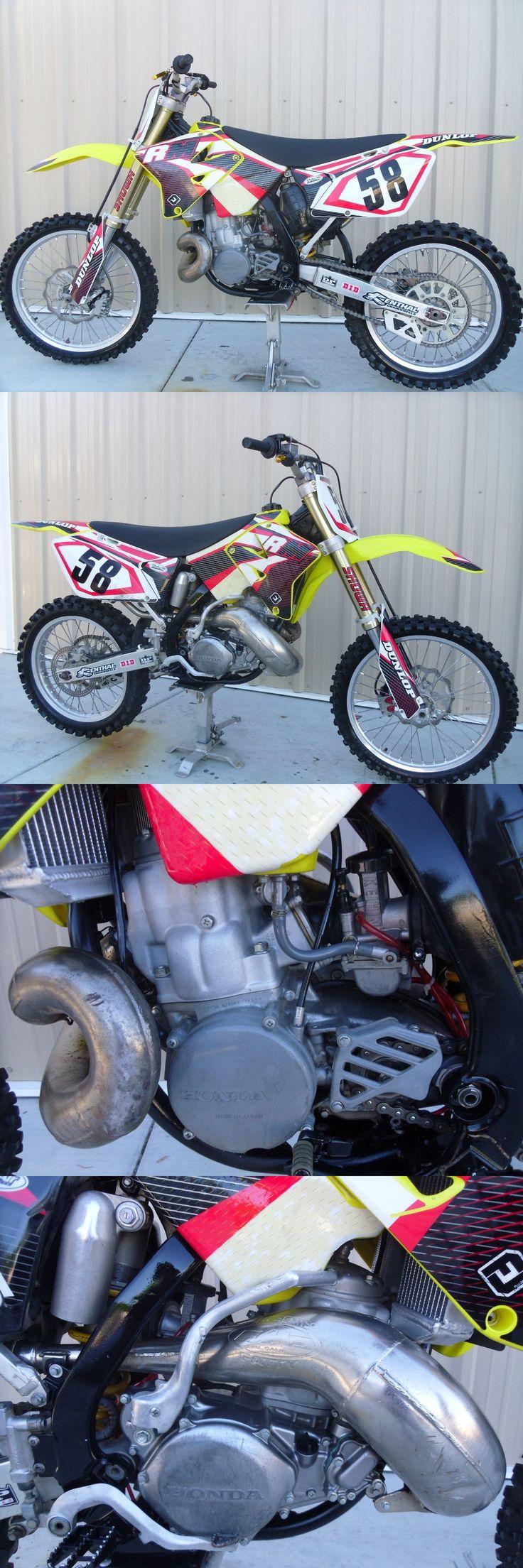 Motorcycles: 2005 Honda Cr 2005 Rm500 Rm250 Frame W 1997 Honda Cr500 2 Stroke Motor Engine Motor Socal -> BUY IT NOW ONLY: $3800 on eBay!