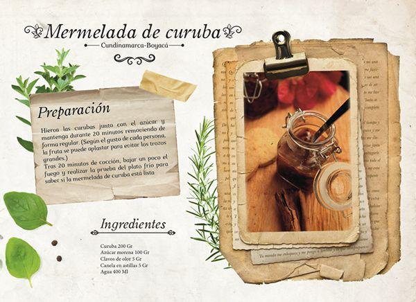 cocina autóctona COLOMBIA Fogones & Peroles on Behance