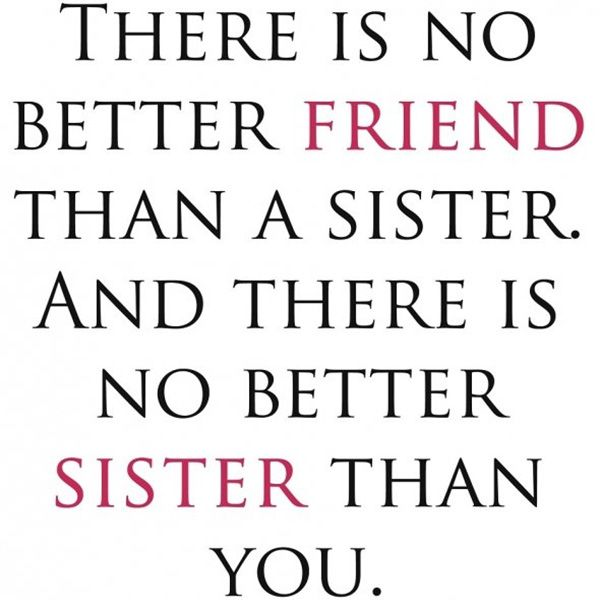 25 Cute Sister Quotes You Will Definitely Love - SloDive