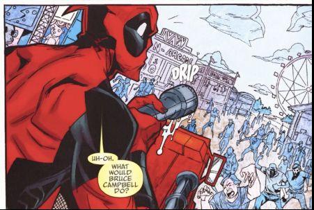 Deadpool Funny Moments   Comic Review: Deadpool Team-Up #897   Fandomania