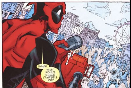 Deadpool Funny Moments | Comic Review: Deadpool Team-Up #897 | Fandomania
