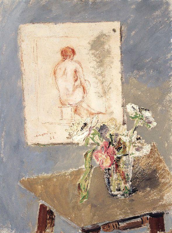 Filippo De Pisis | De Pisis - Vaso di fiori in un interno 1931.jpg