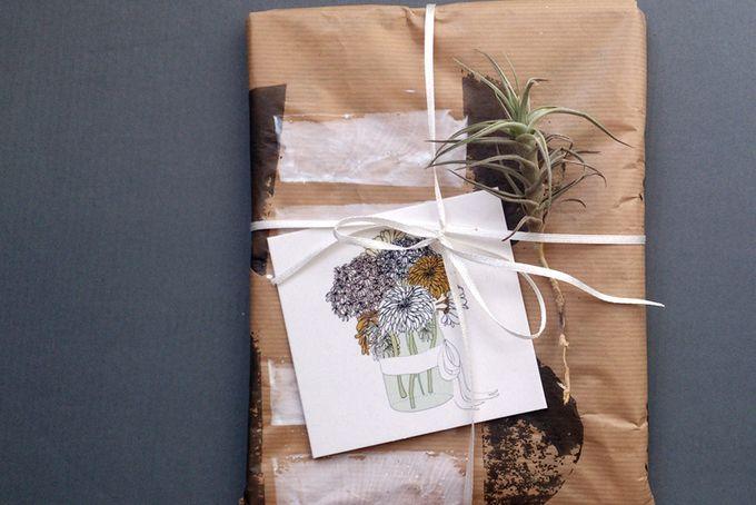 Flower Gift Card by Lauren Fowler