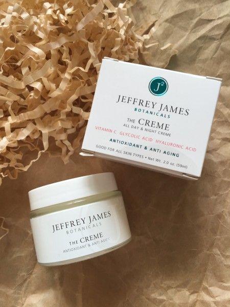 Jeffrey James botanicals: антивозрастной крем и сыворотка для лица