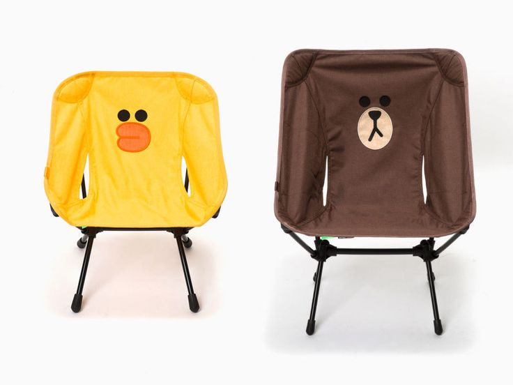 LINE FRIENDS x Helinox Folding Camp Chair - Portable, Lightweight, For Outdoor  #LINEFRIENDS #Helinox #Camp #Chair #Outdoor #BROWN #SALLY