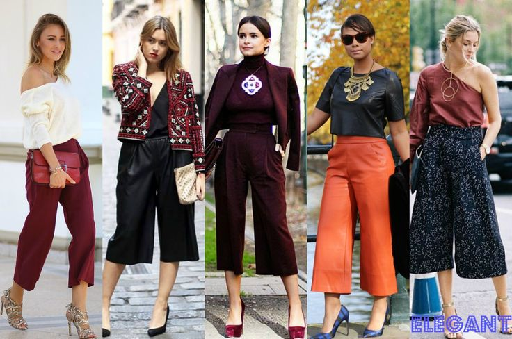 Pantaloni trei sferturi eleganti