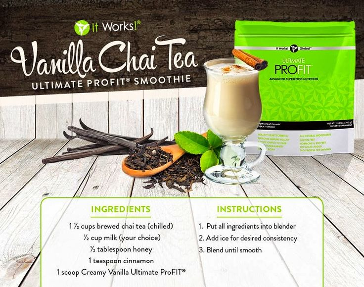 healthy smoothie recepies with It works global  drinks with profit