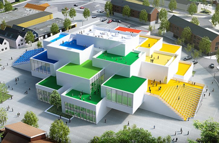 Lego House in Billund, Denmark
