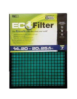 Furnace Filter (Pack of 4)  Furnace Filter (Pack of 4) Reusable, washable and adjustable. Fits standard filter sizes 14-Inch by 20-Inch up to 20-Inch by 25-Inch. It has two-stage filtration and MERV 7. It captures pollen, dust, and pet dander size particles.  http://www.airconditionercenter.com/furnace-filter-pack-of-4/