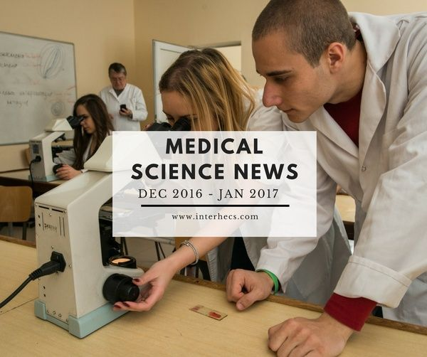 Inter HECS keeps you up to date with the latest news in the field of medicine!