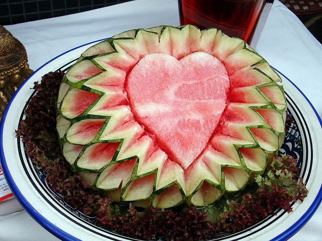 Best Watermelon Art Images On Pinterest Food Carving - Incredible sculptures carved watermelon